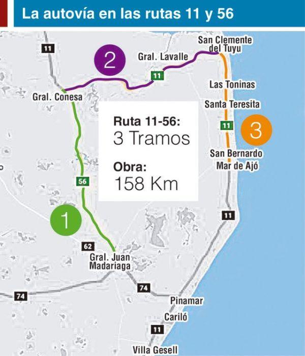 Resultado de imagen para rutas 11 y 56